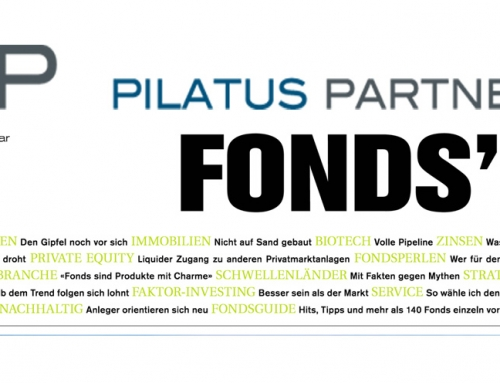 Pilatus Funds in the Fonds'18 of FuW (January supplement)